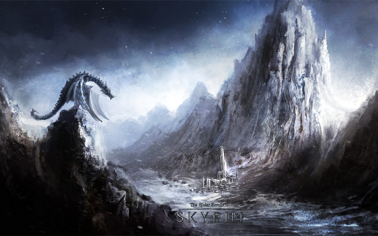 Free The Elder Scrolls V: Skyrim Wallpaper in 1280x800