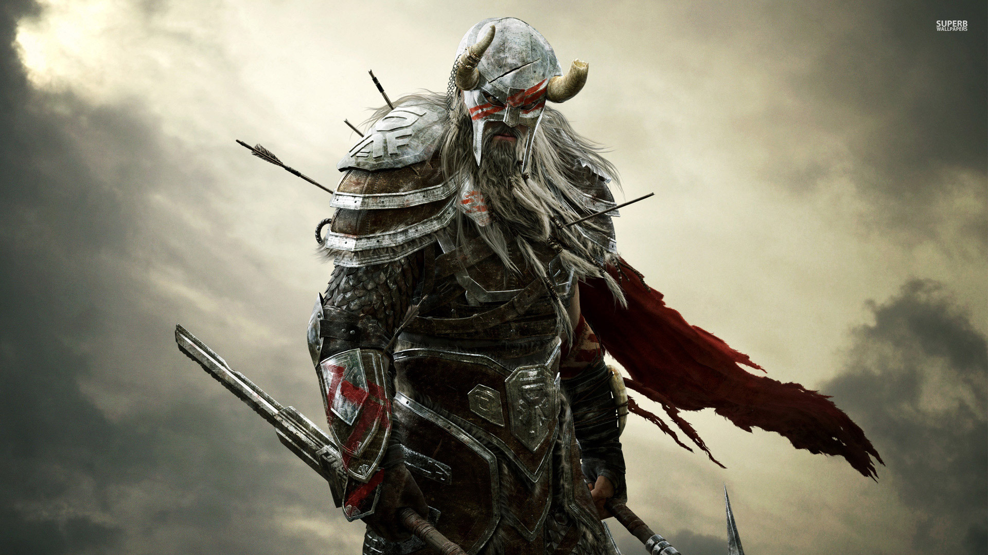 Barbarian - The Elder Scrolls Online wallpaper 1920x1080 jpg