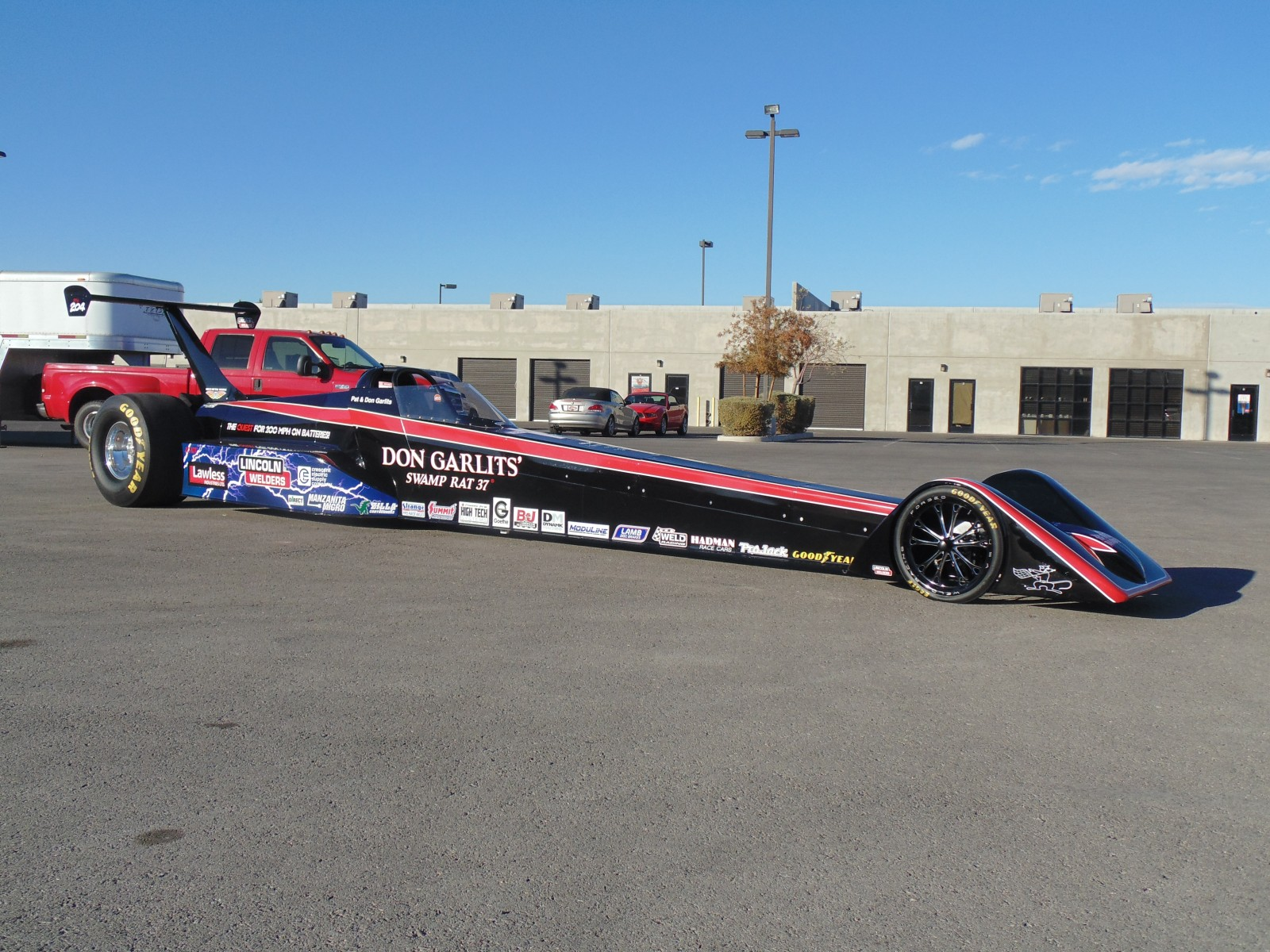 Electric Dragsters