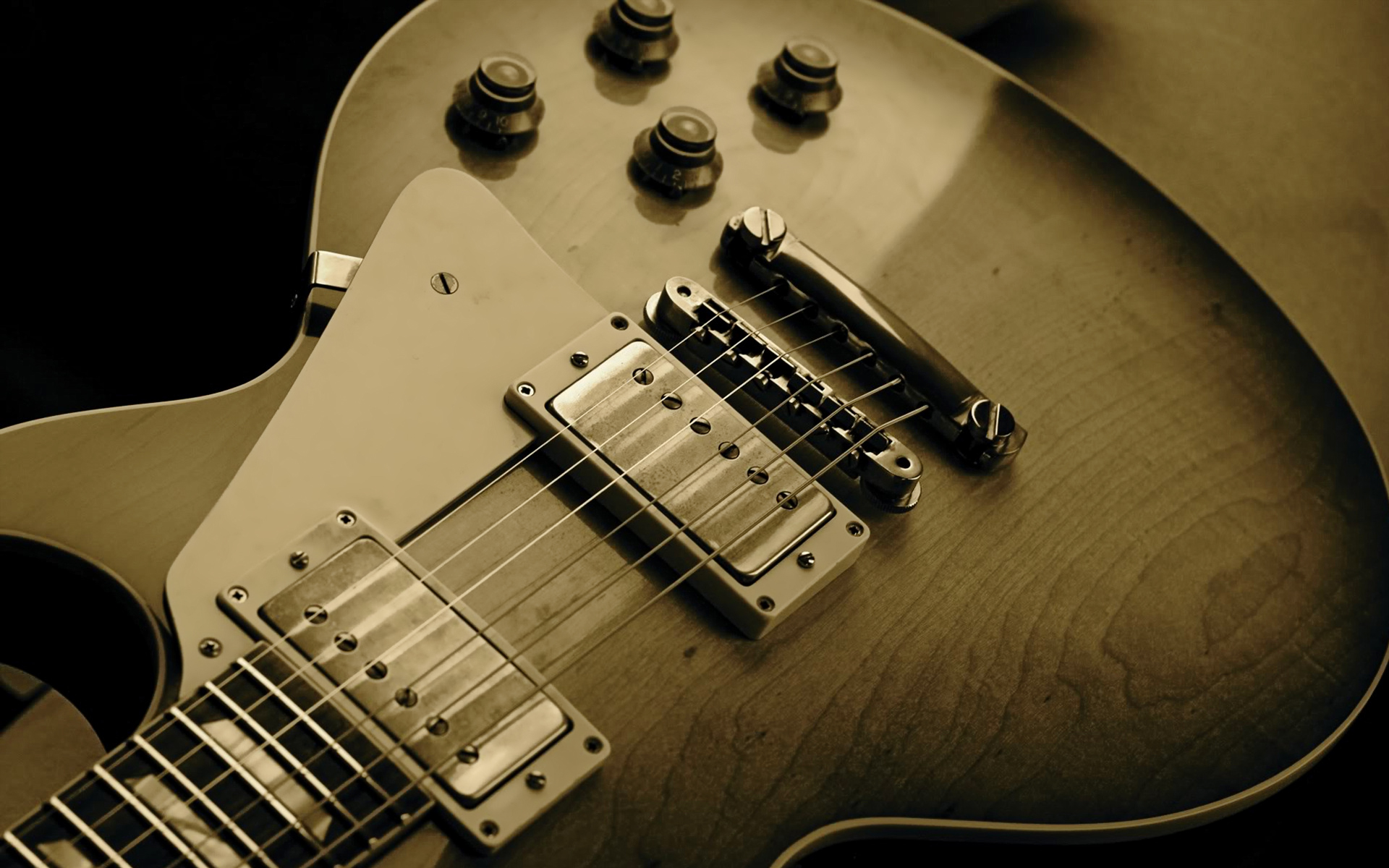 Electric Guitar Wallpaper
