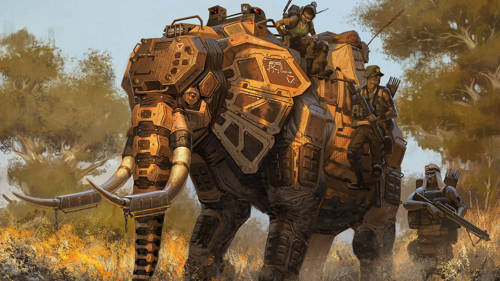 Elephant HD Desktop Background wallpaper