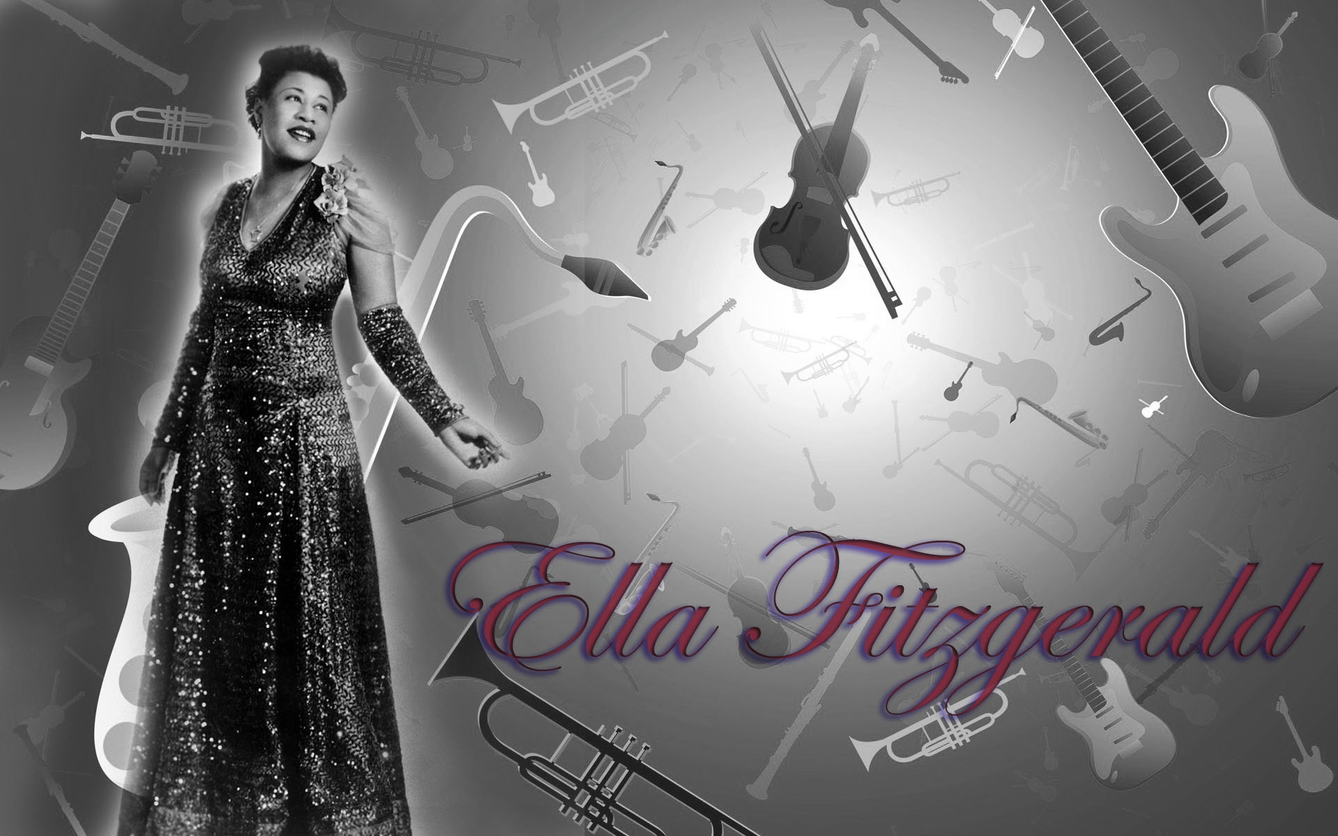 Ella Fitzgerald | 1920 x 1200 | Download | Close
