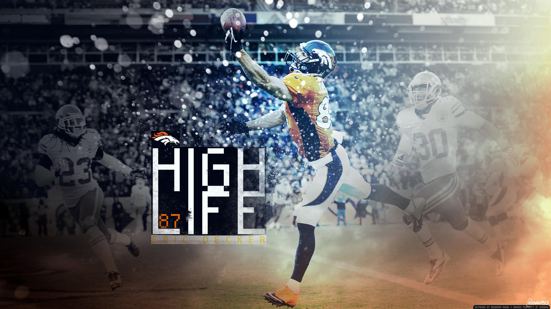 Eric Decker Denver Broncos wallpaper
