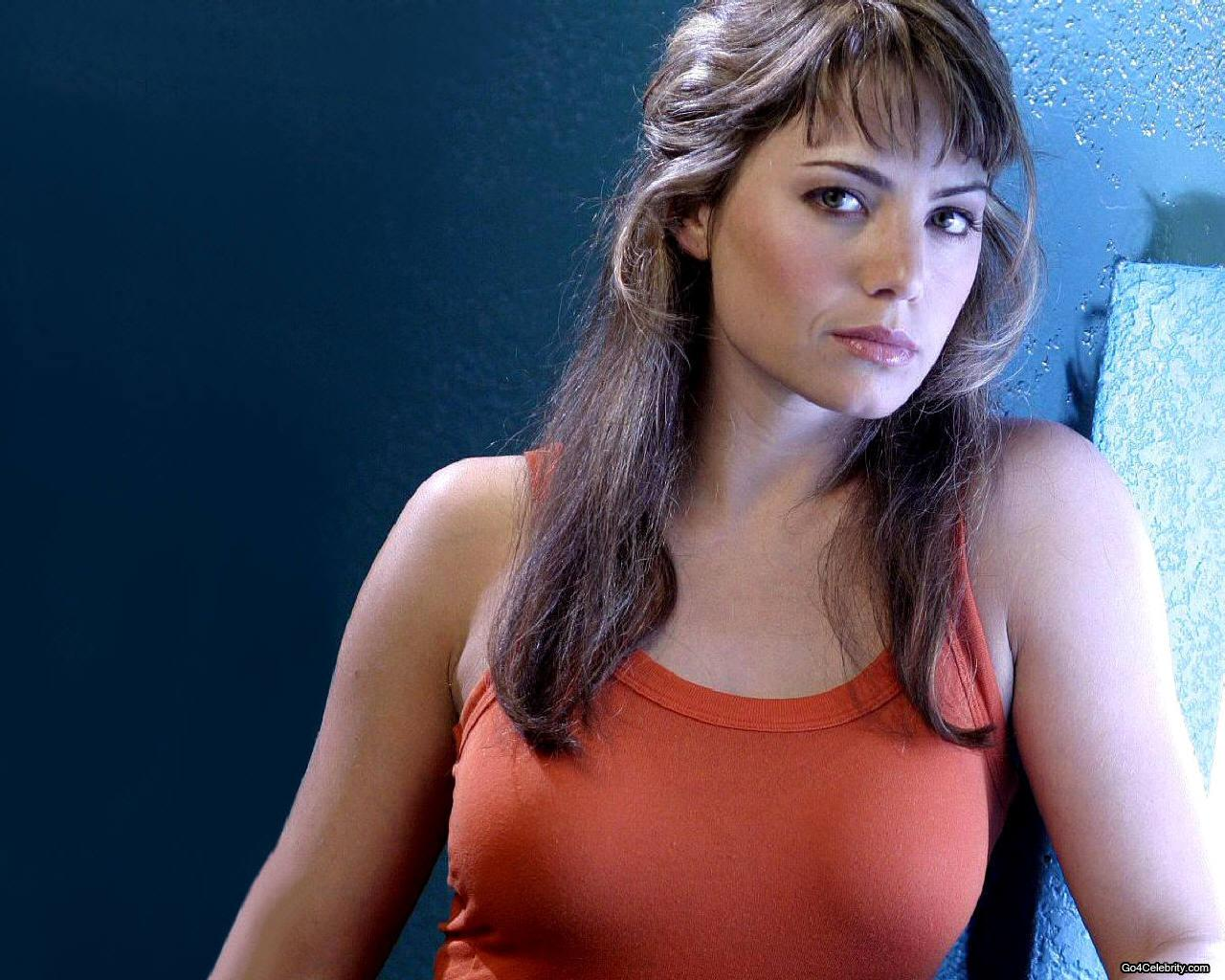 Erica Durance hd Wallpaper