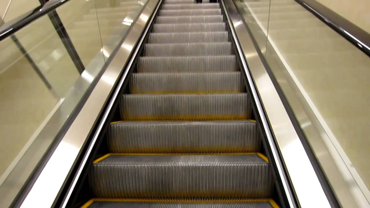 BRAND NEW Schindler 9300AE Escalators in JCPenney-Westfield Wheaton Plaza-Wheaton, MD