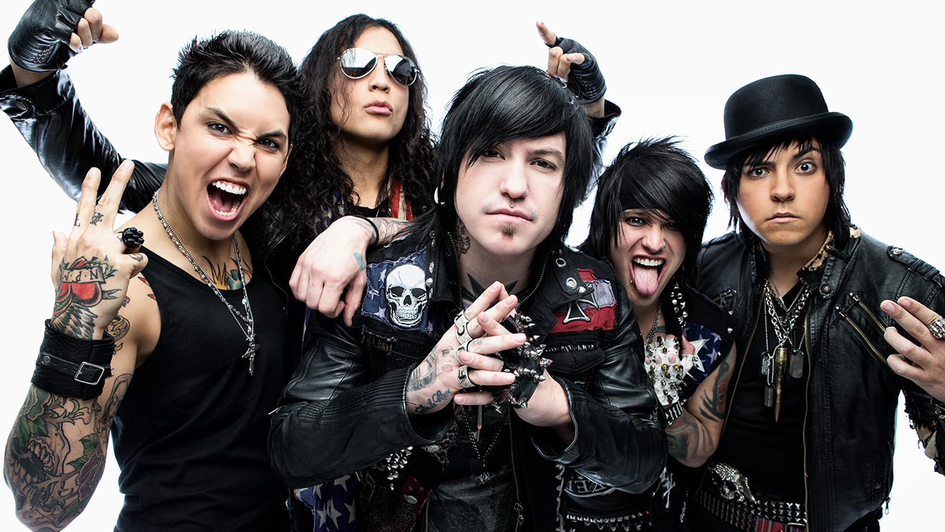 Escape the Fate backdrop wallpaper