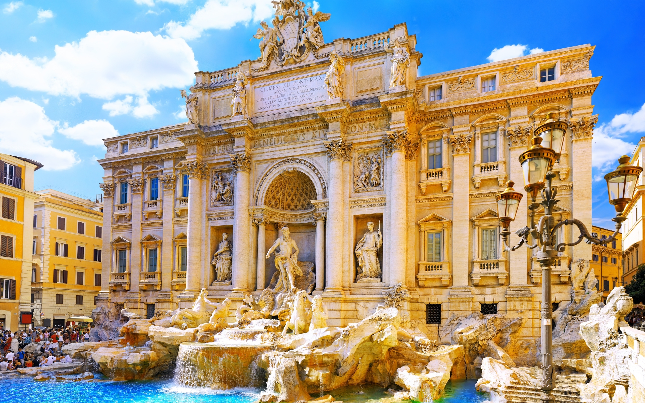 The Trevi Fountain, Rome, Italy, Europe