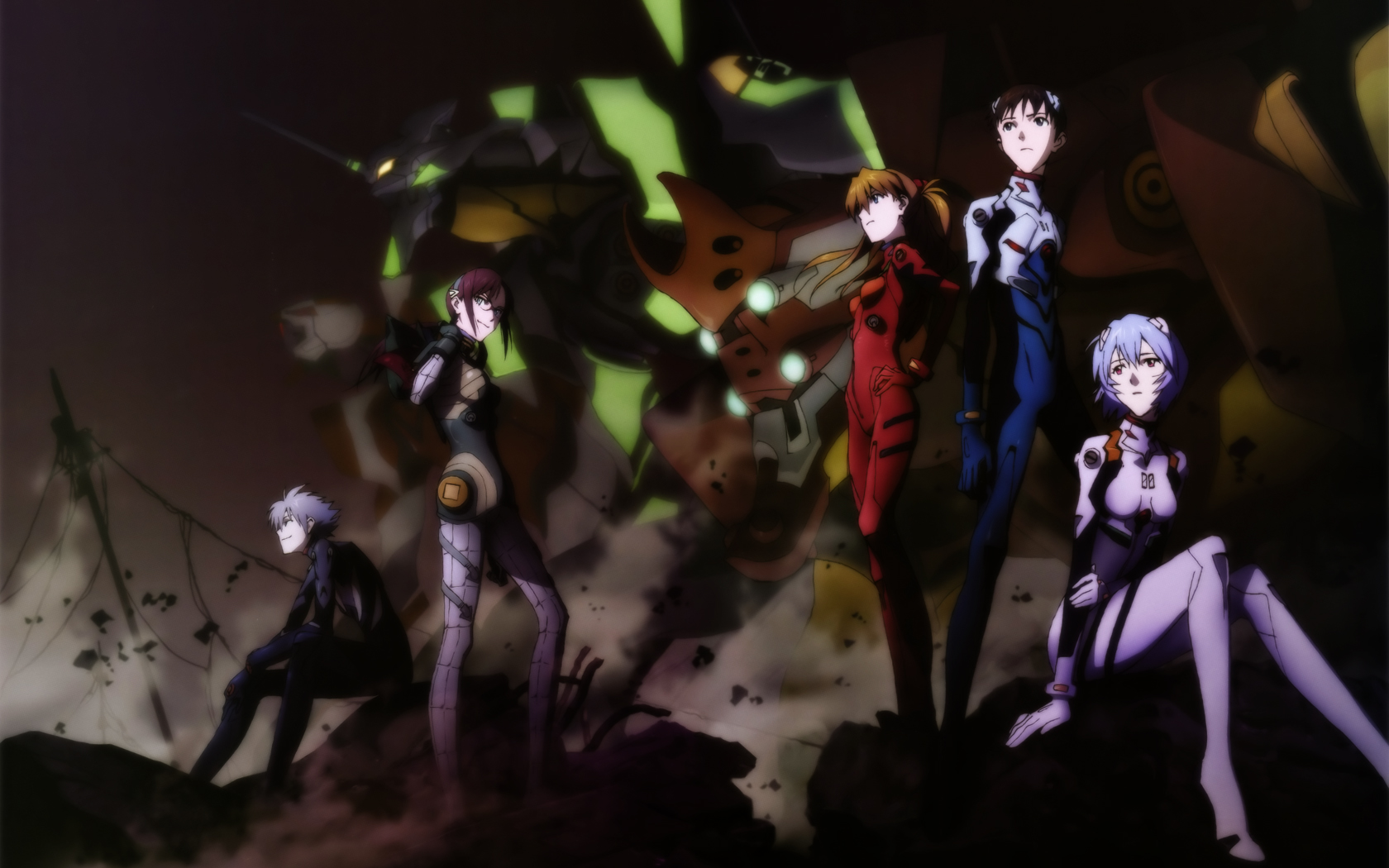 Neon Genesis Evangelion Res: 1680x1050 / Size:578kb. Views: 28174