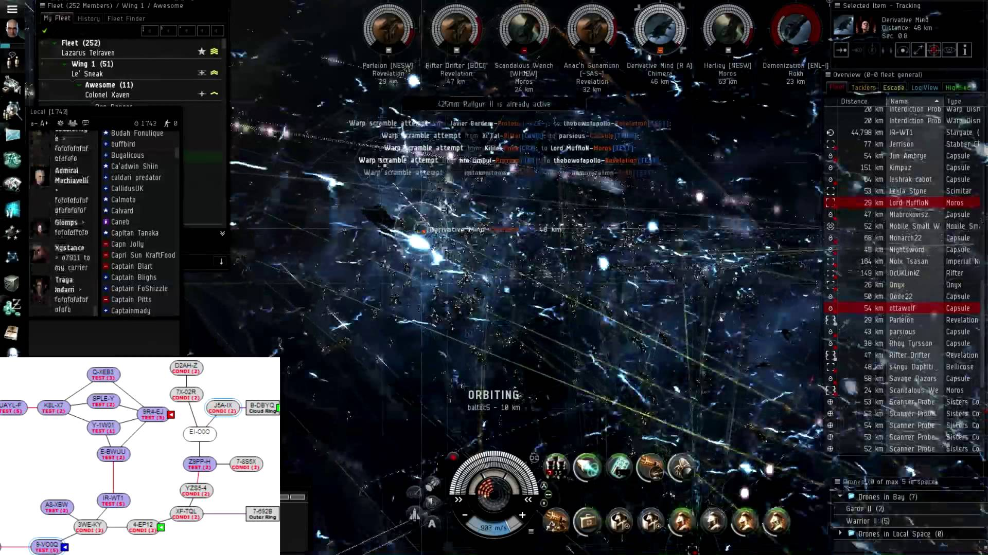 Eve Online - My Fountain War Diary