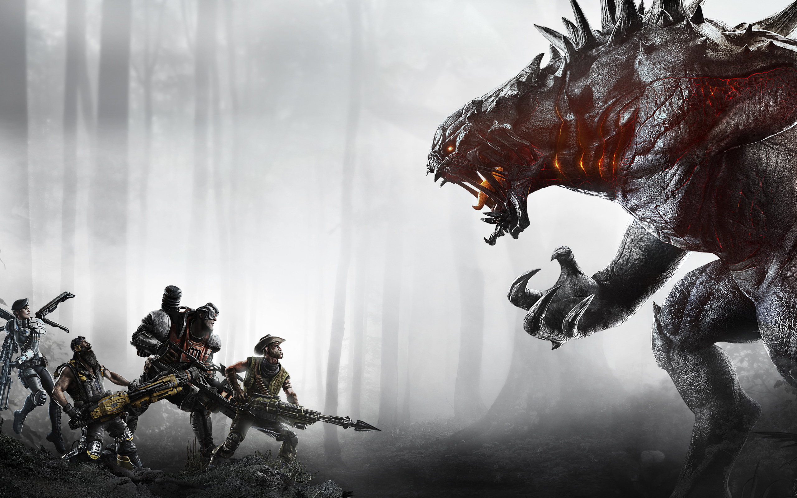 Evolve Wallpaper