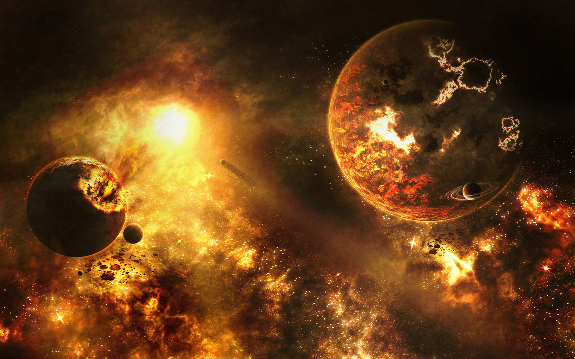 Cool Explosion Wallpaper 8363