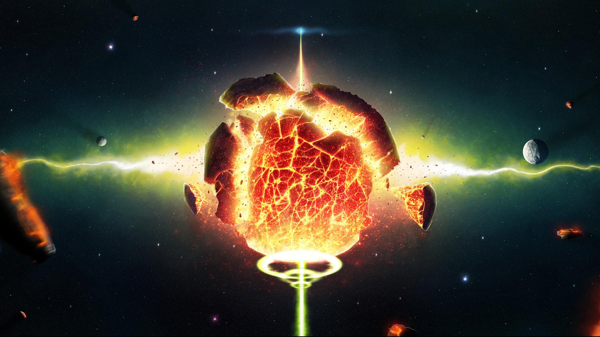 HD Wallpaper   Background ID:361783. 1920x1080 Sci Fi Explosion