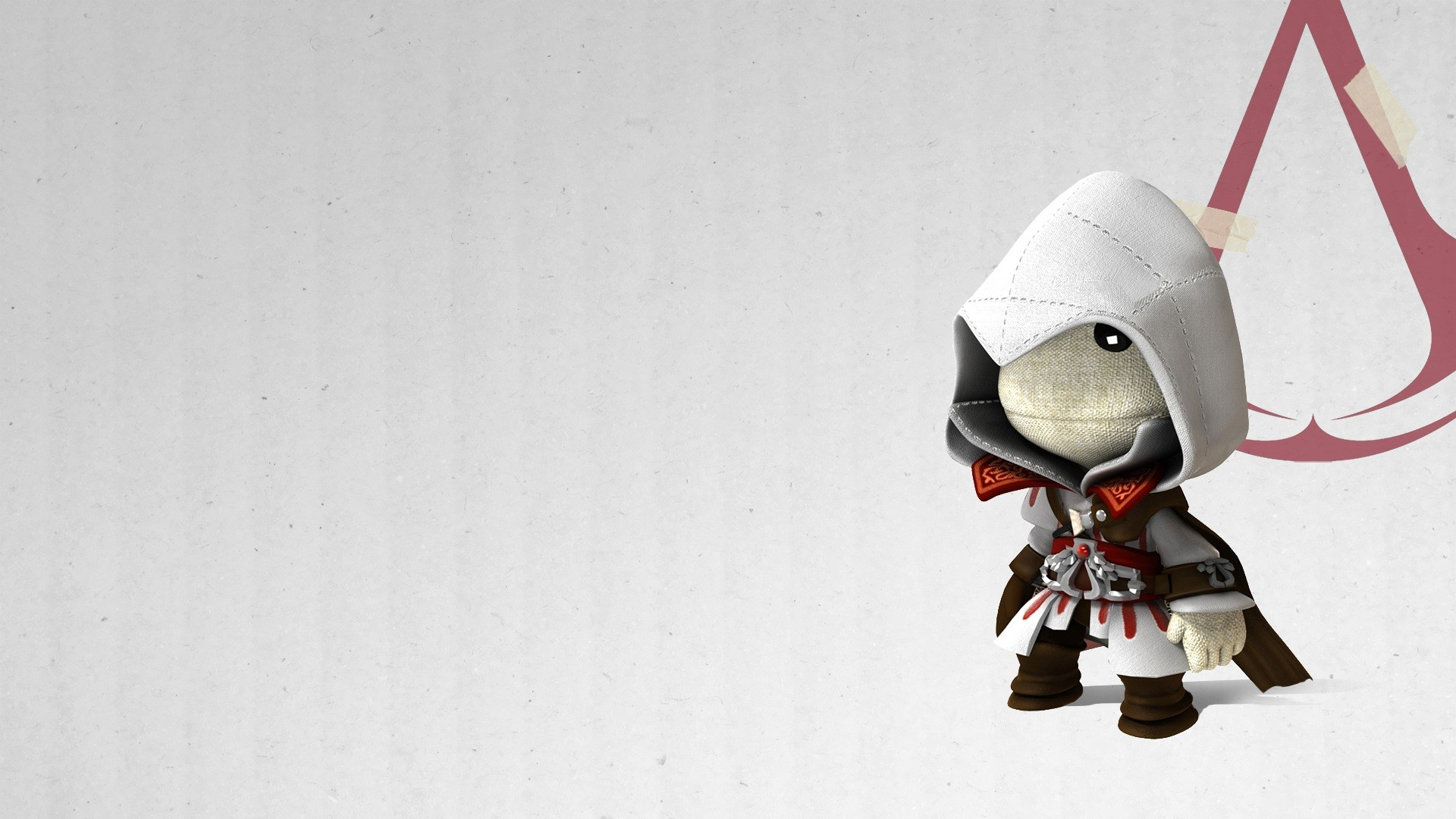 Ezio Sackboy Wallpaper 40693 1920x1080 px