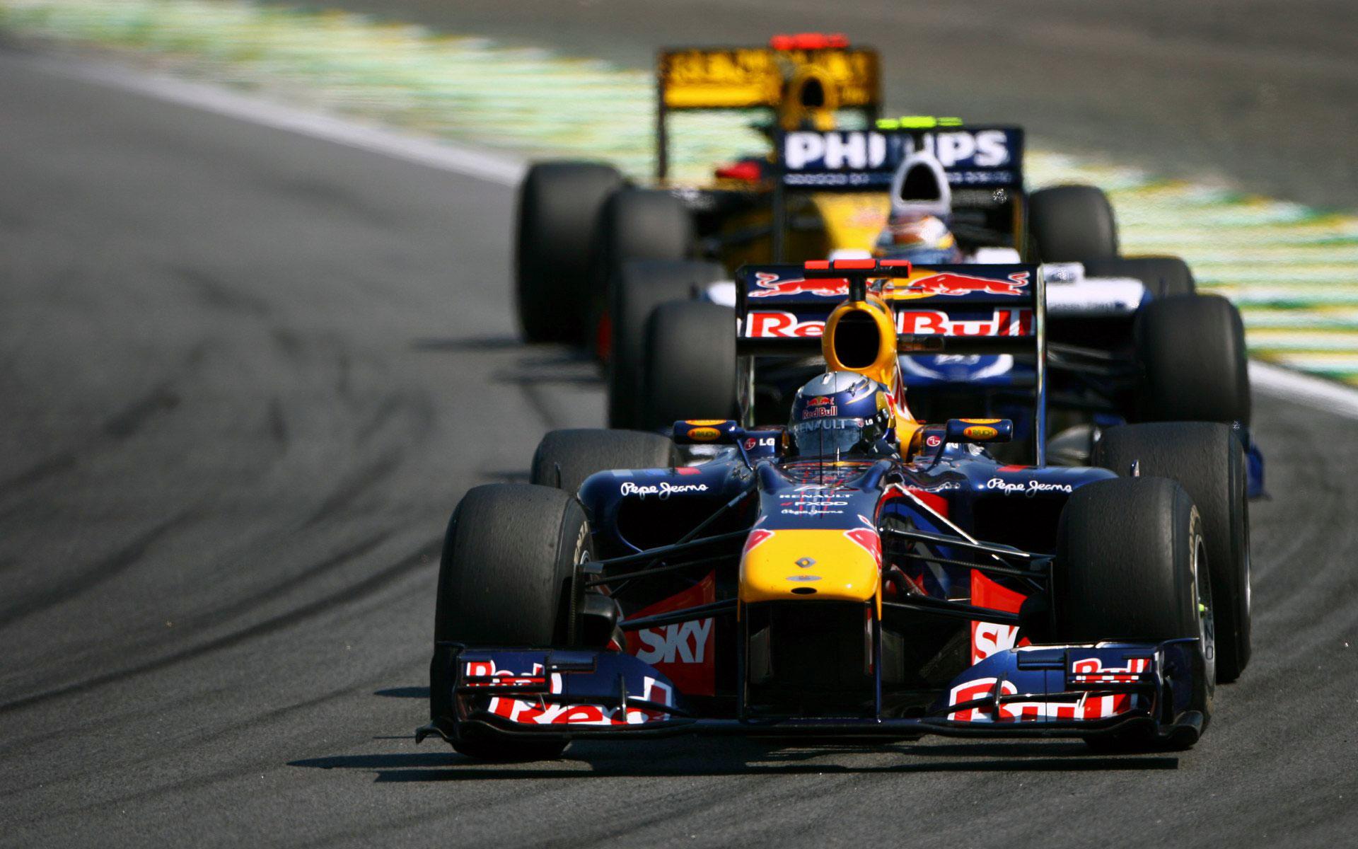 F1 Racing Wallpaper