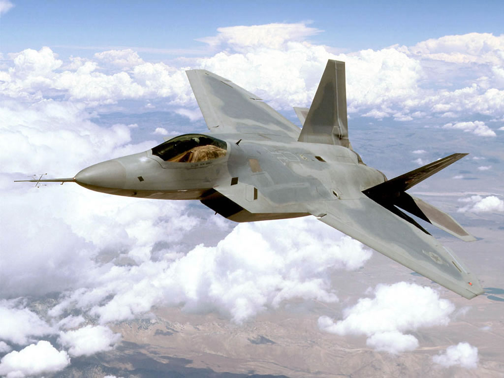F-22 Raptor Fighter Aircraft