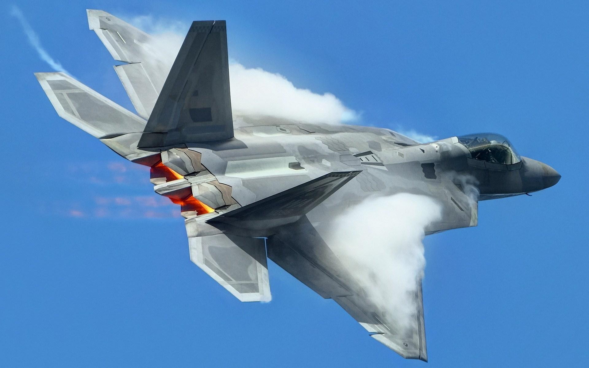 Fighter Aircraft Lockheed Martin F-22 Raptor