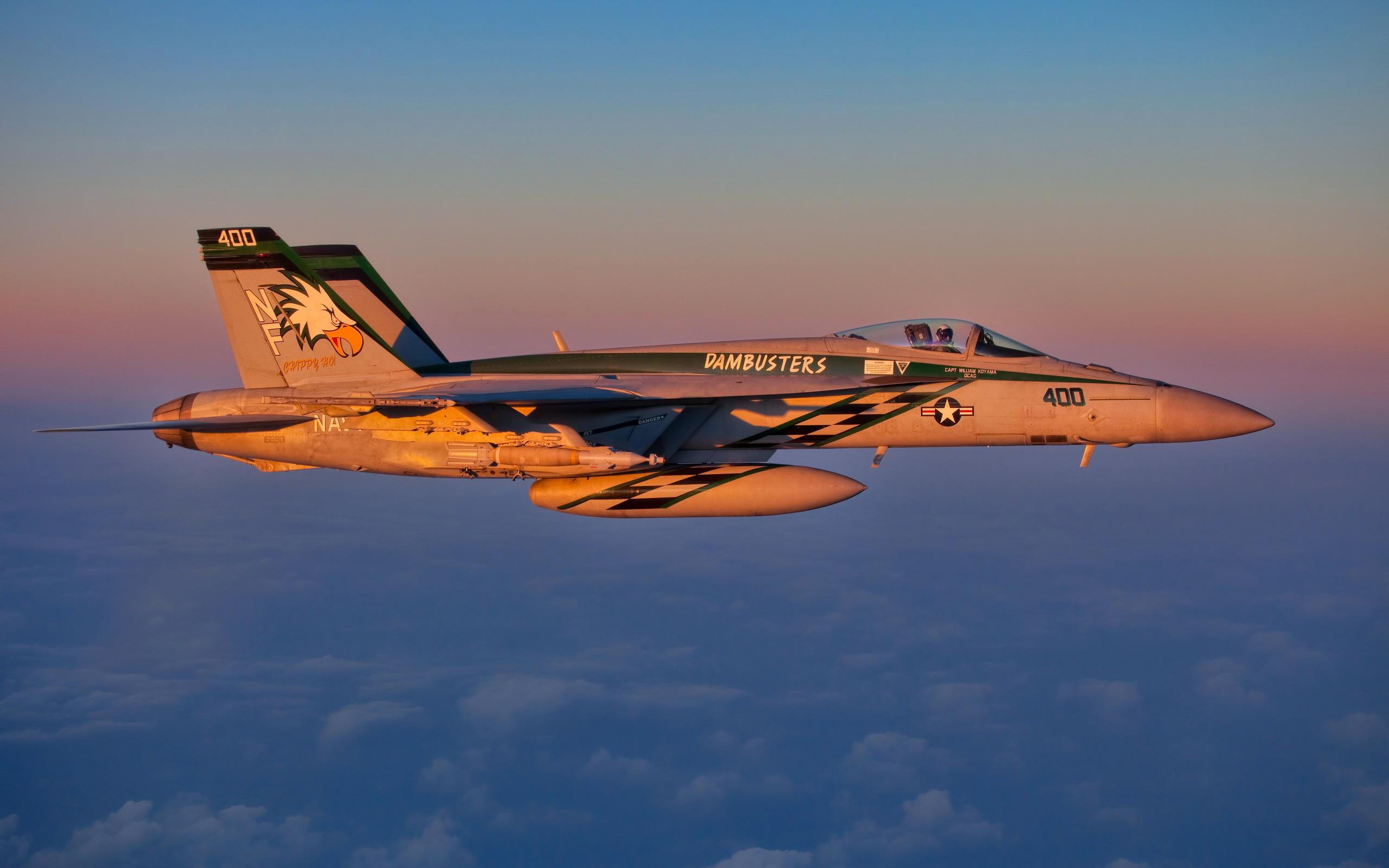 Fa 18e jet fighter