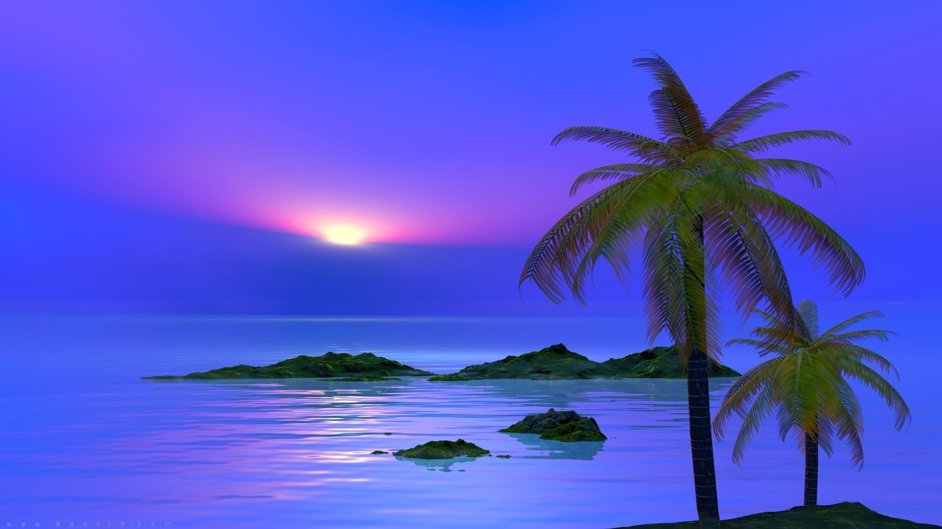Fabulous Sunset wallpaper