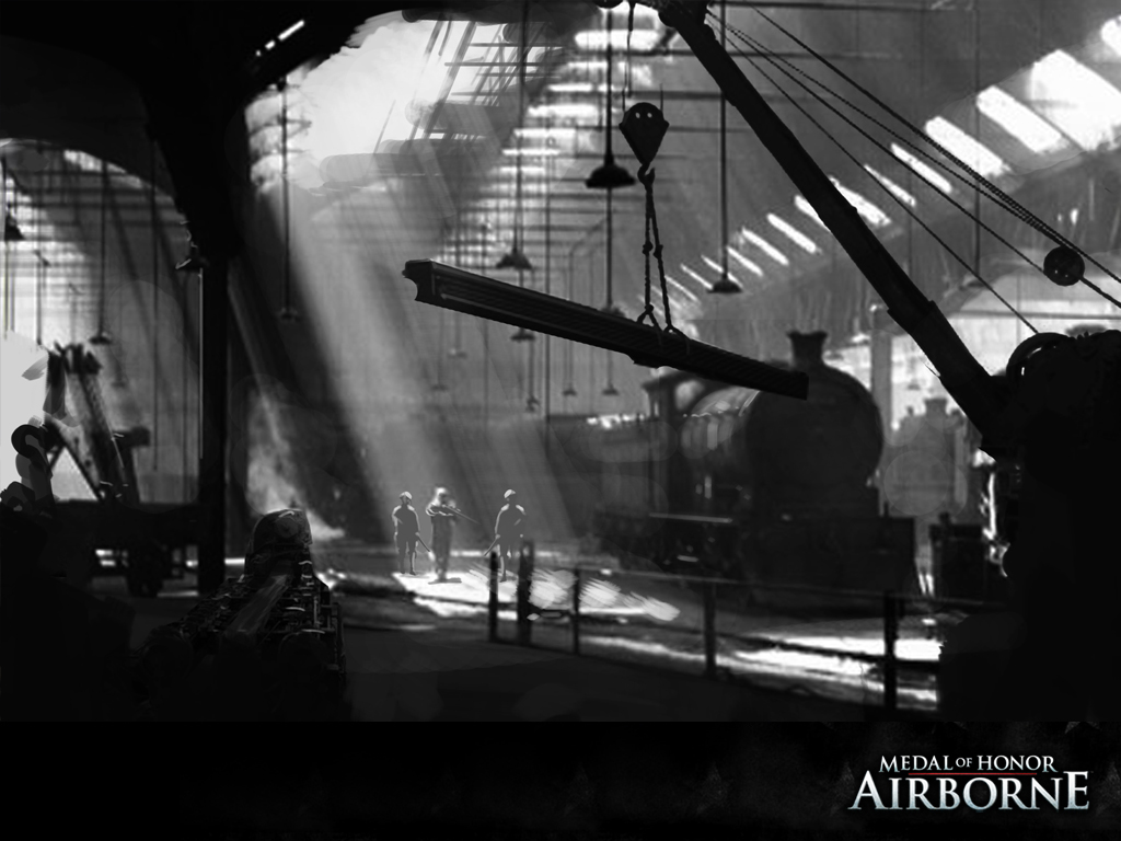 Factory Medal of Honor Airborne Wallpaper