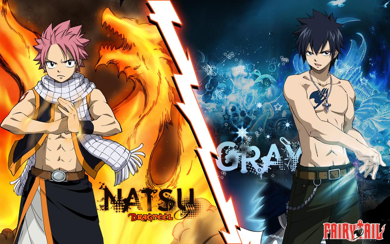 Natsu vs Gray Res: 1280x800 / Size:1170kb. Views: 308934