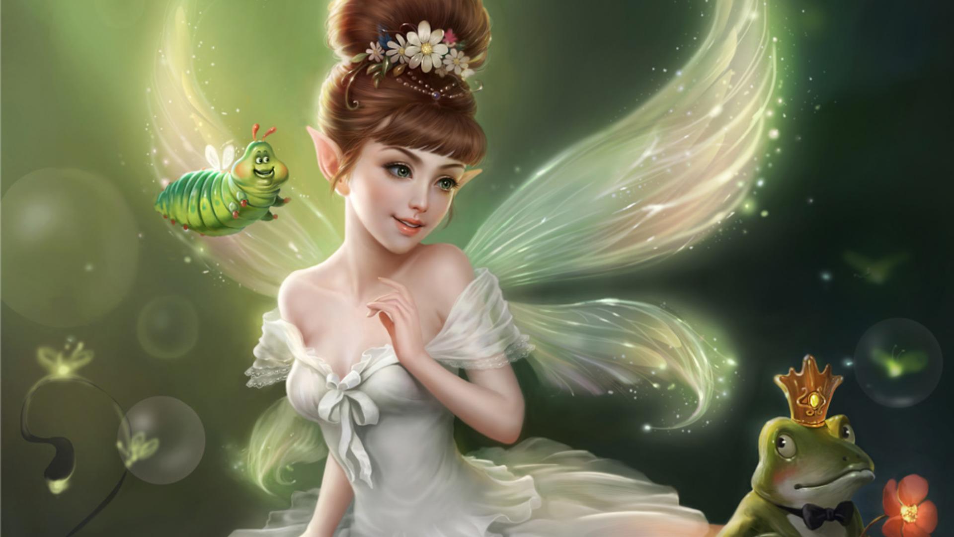 Wallpapers for Gt Cute Fairy Wallpaper Desktop Xpx