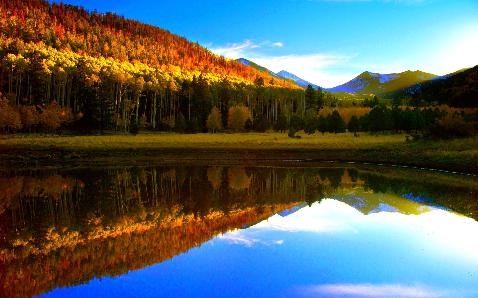 Fall Lake Wallpaper