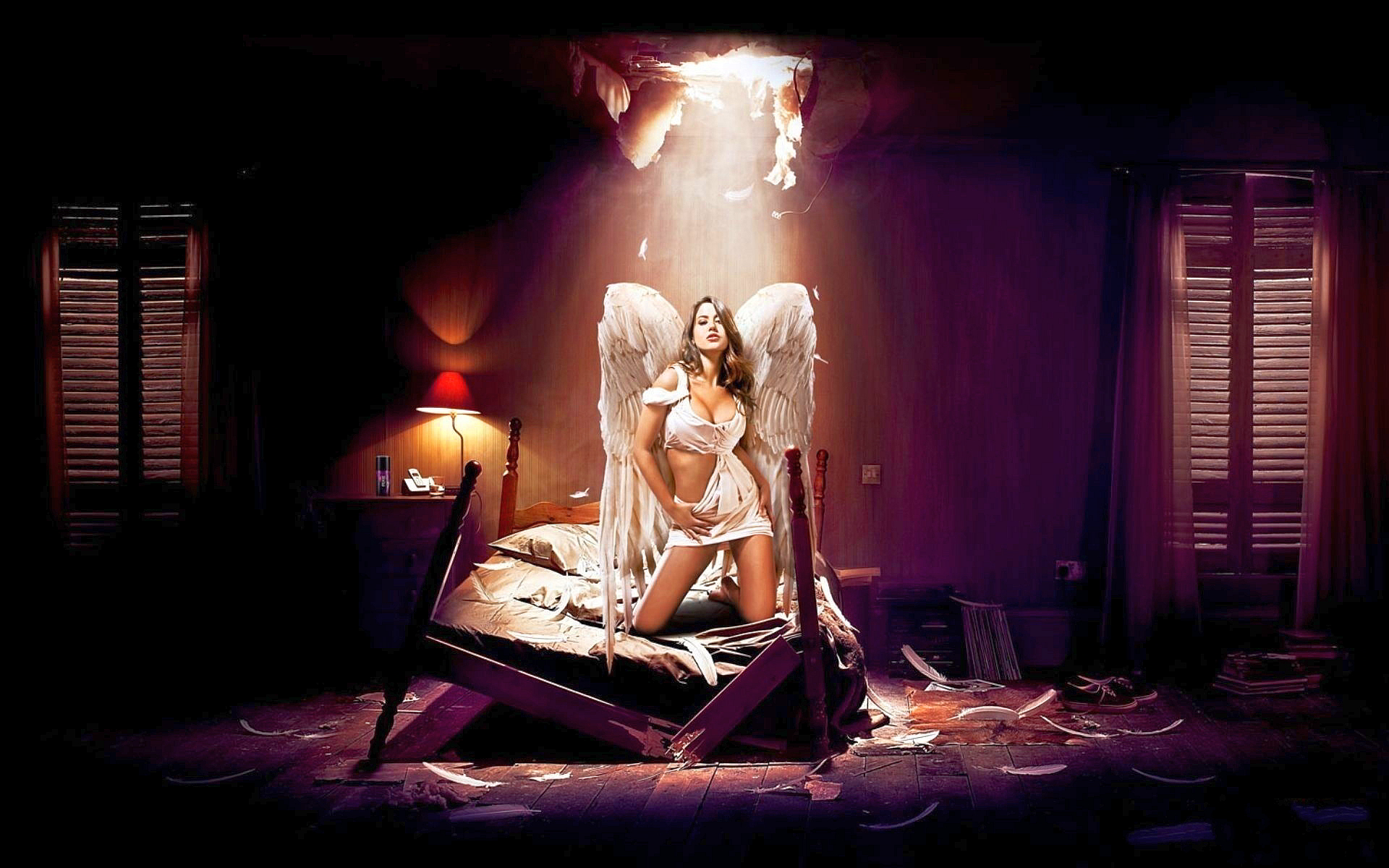 Fallen hot angel