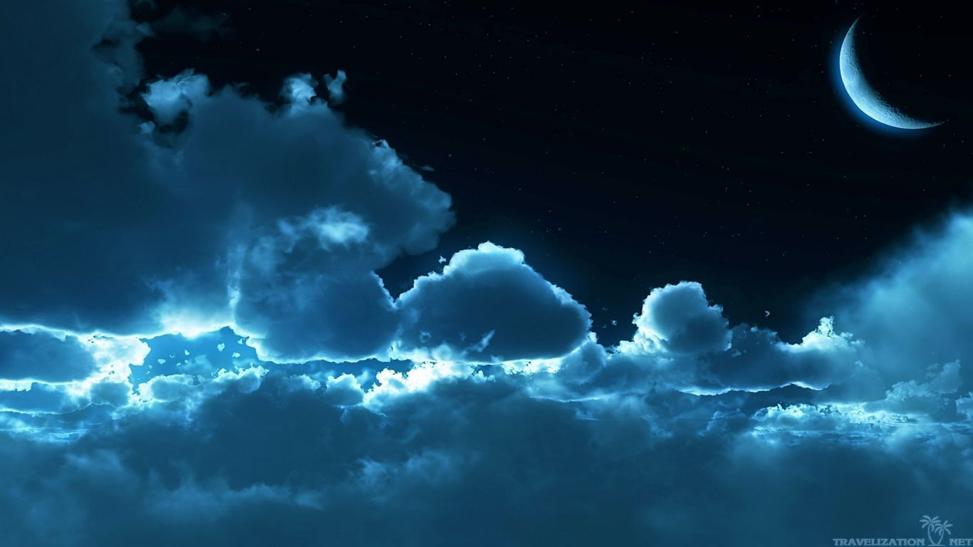 You can find Blue Night Moonlight Wallpapers in many resolution such as 1024×768, 1280×1024, ...