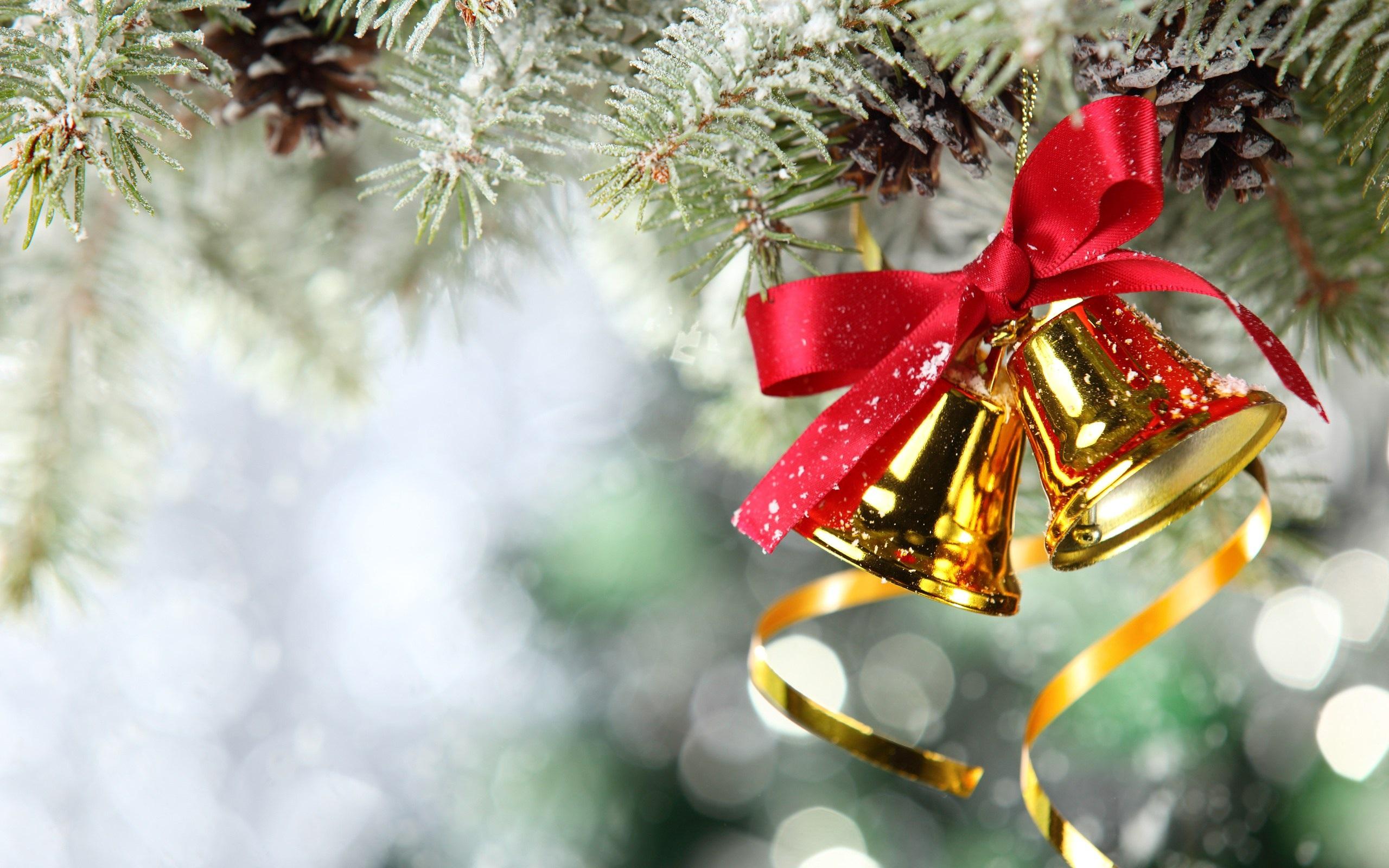 Fantastic Christmas Bell Wallpaper