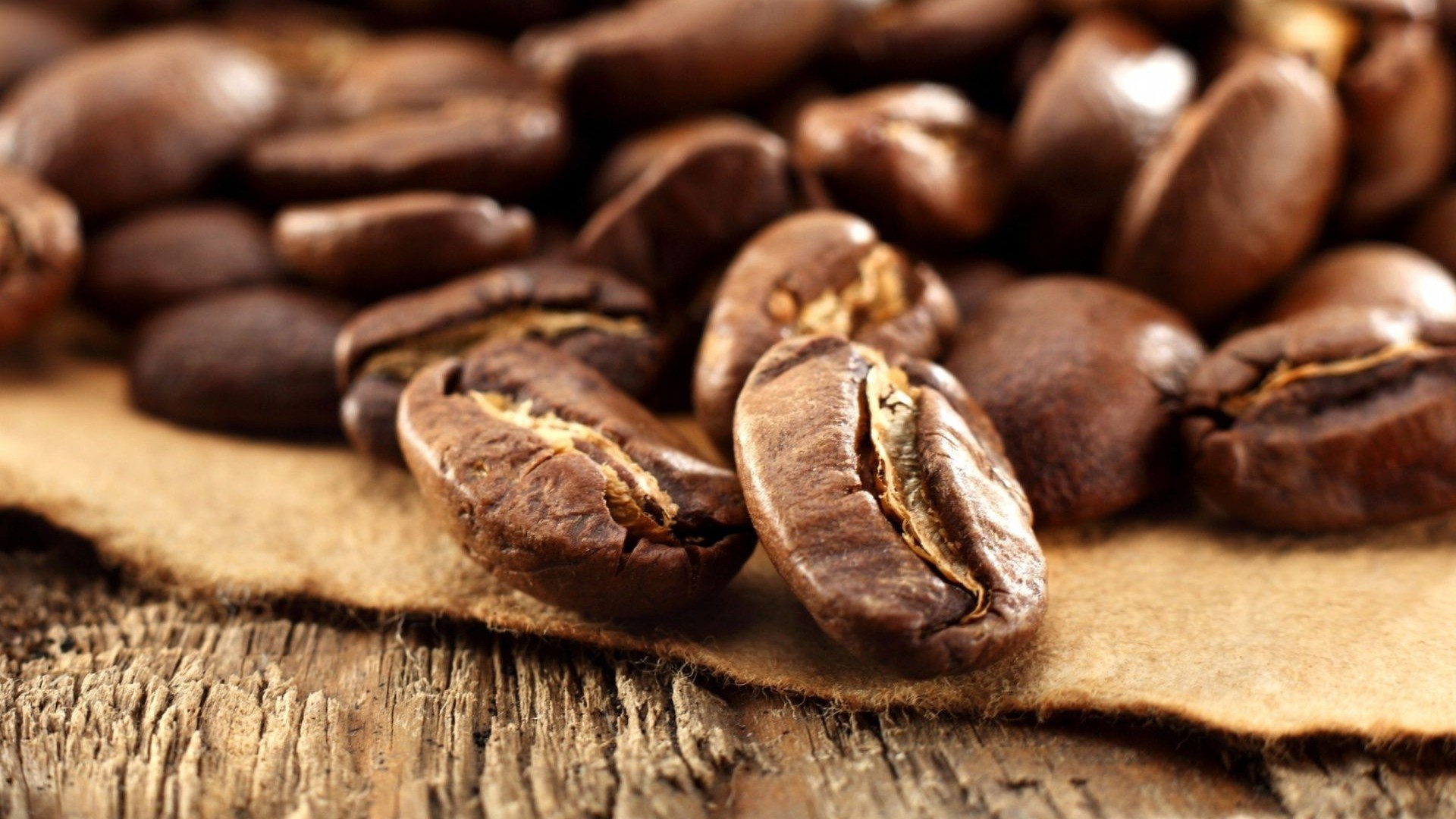 Fantastic Coffee Grains Wallpaper