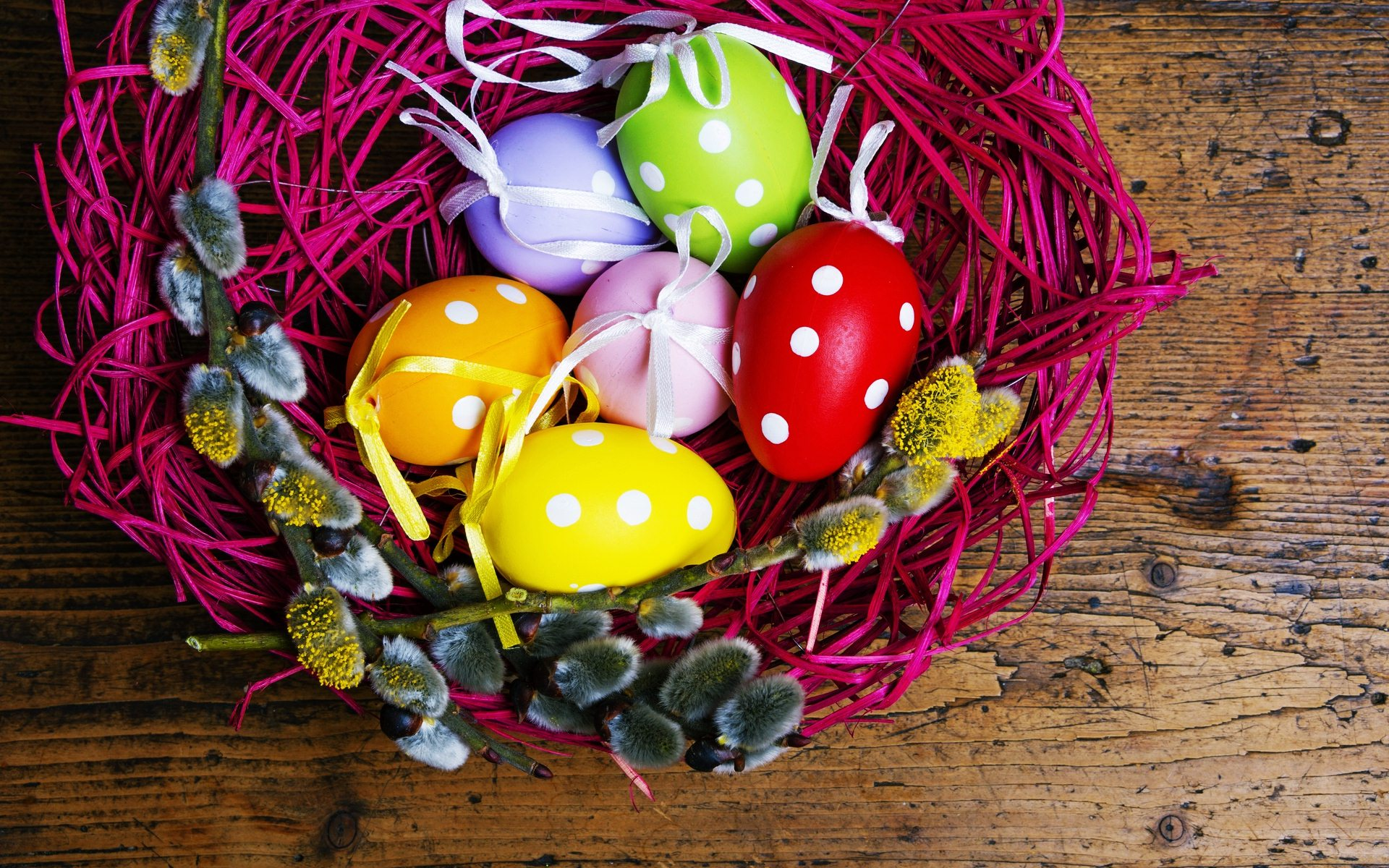 Fantastic Easter Basket Wallpaper