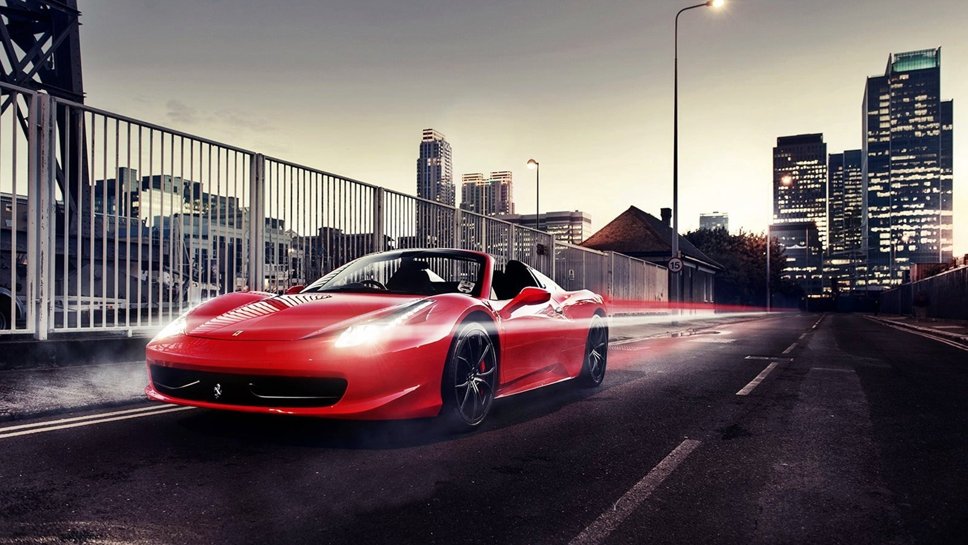 "Download the following Fantastic Ferrari 458 Wallpaper 37621 by clicking the orange button positioned underneath the ""Download Wallpaper"" section."
