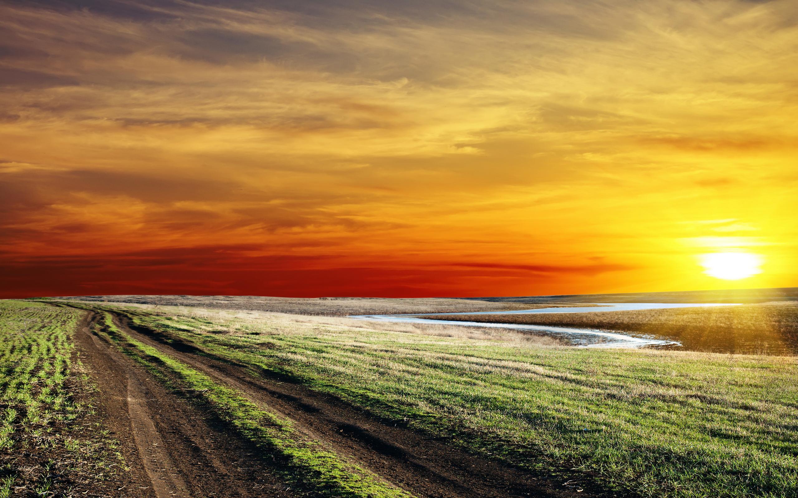 Fantastic HDR Landscape Wallpaper