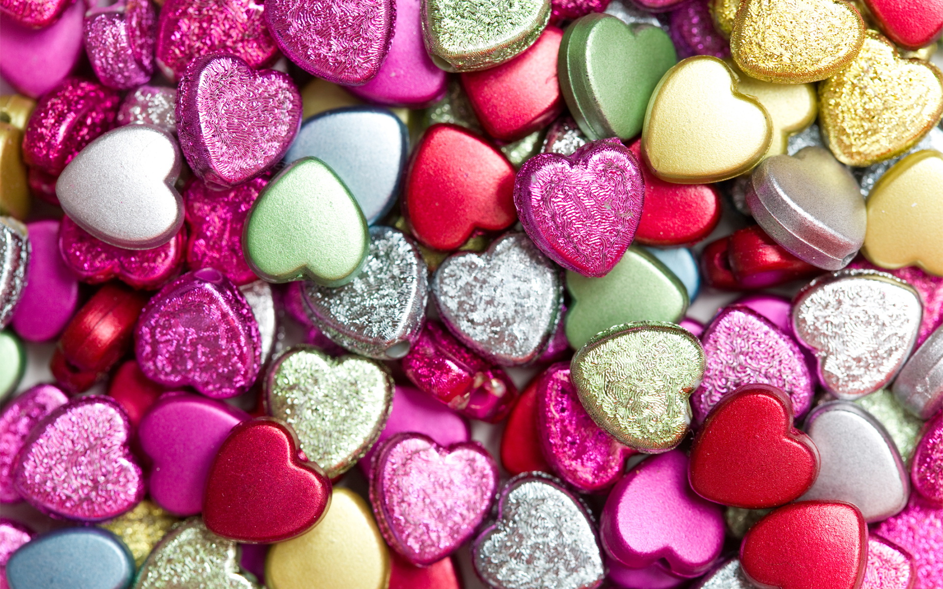 Fantastic Heart Candy Wallpaper