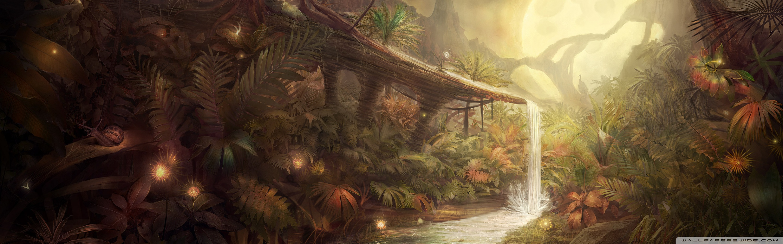 Fantastic Jungle Wallpaper