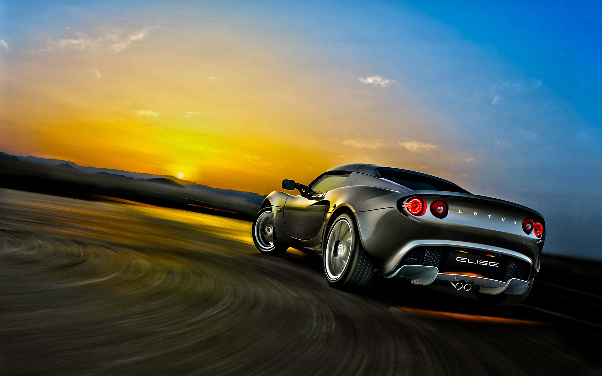 Awesome Lotus Elise Wallpaper