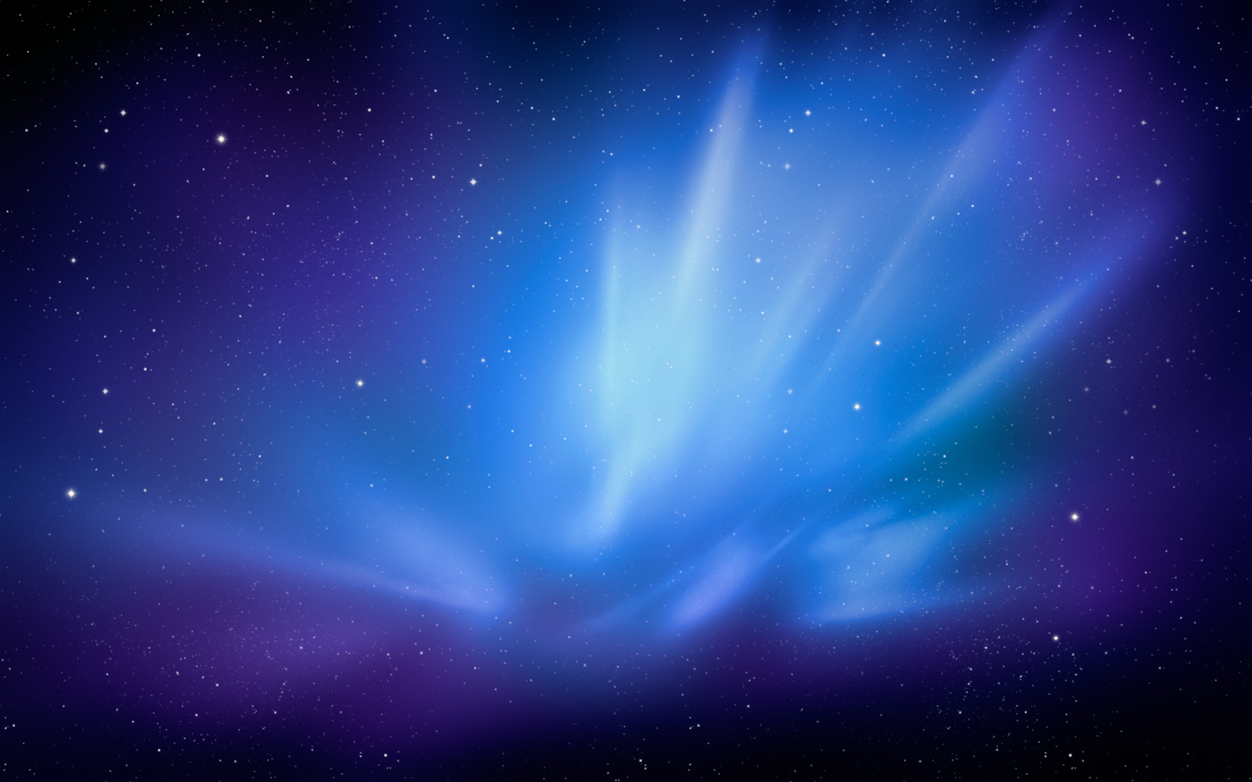 I recently came across the default wallpaper in Mac OS X Snow Leopard Server and I think it looks just fantastic with it's blue hues, I wish it was included ...