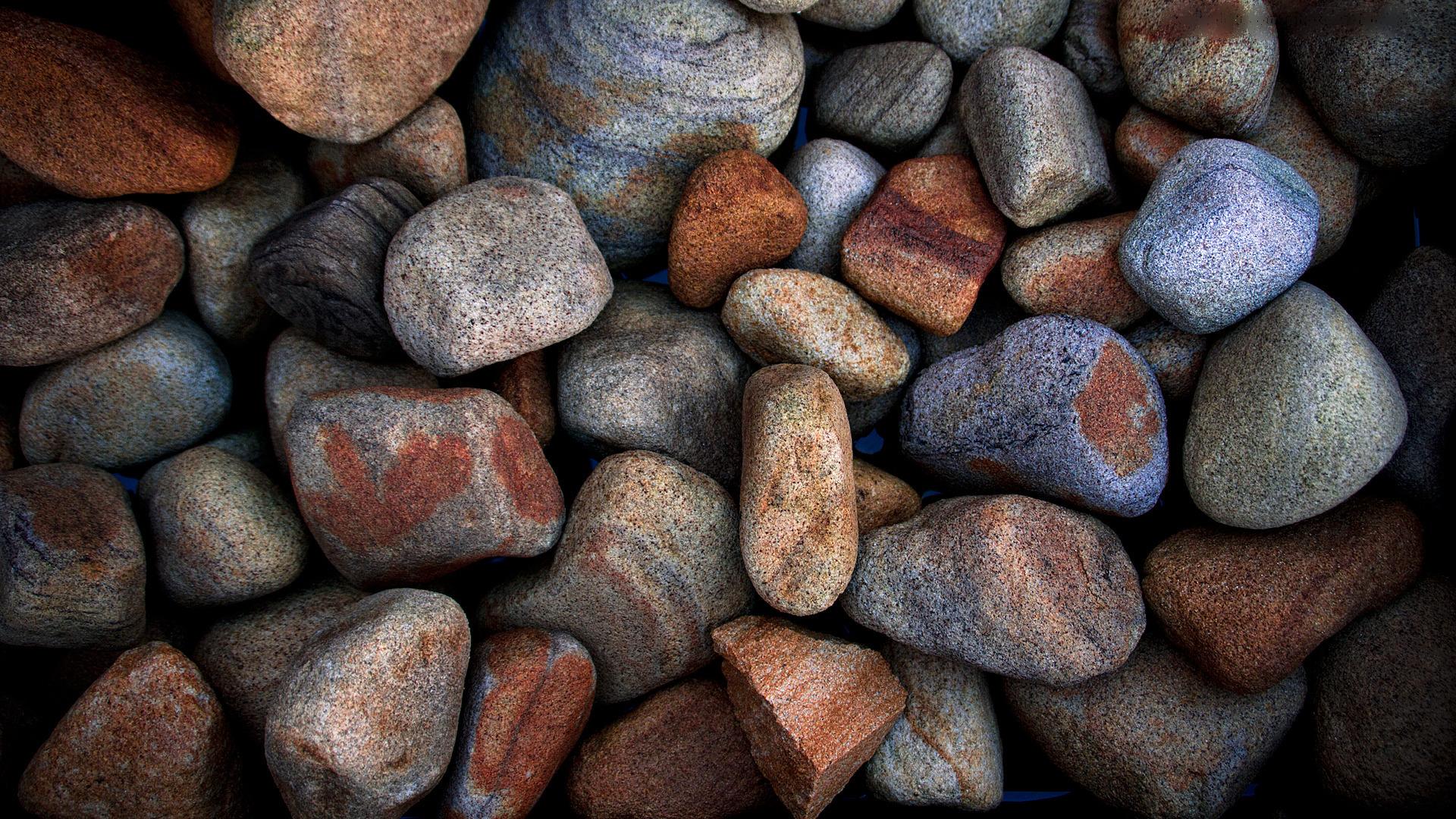 Fantastic Pebbles Wallpaper