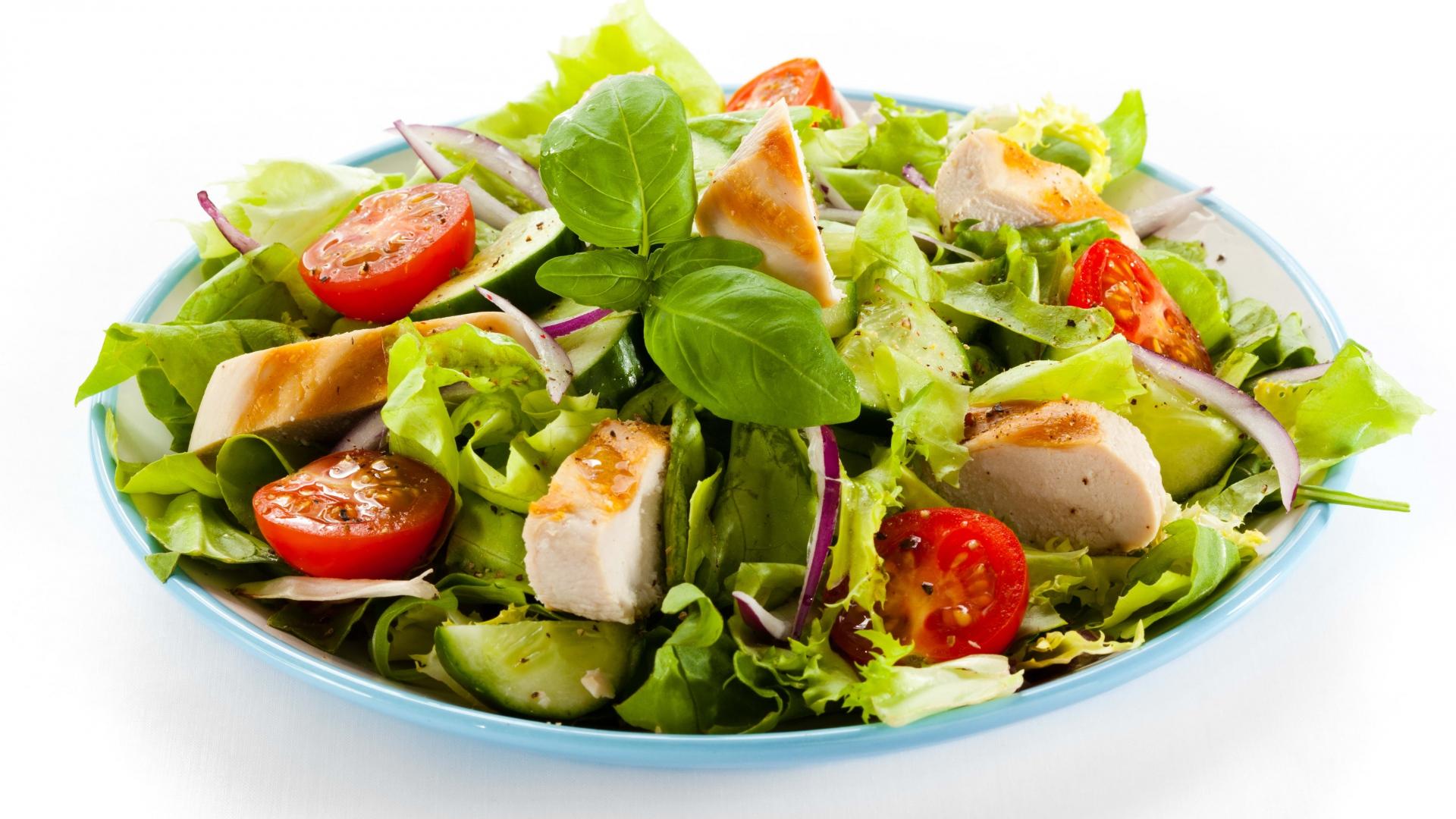 Fantastic Salad Wallpaper