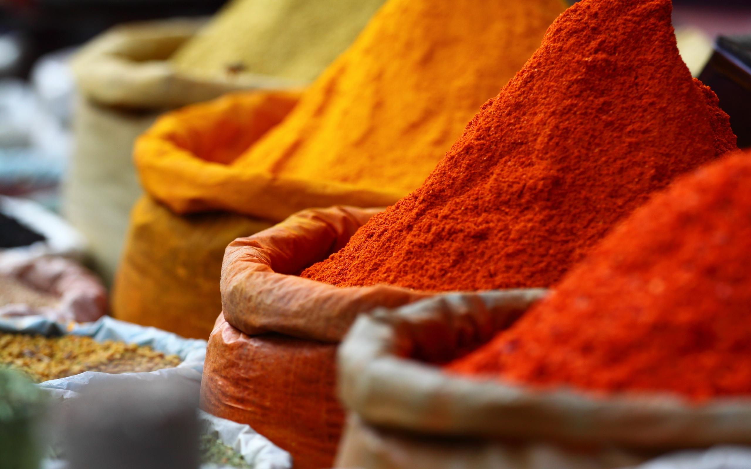 Fantastic Spices Wallpaper
