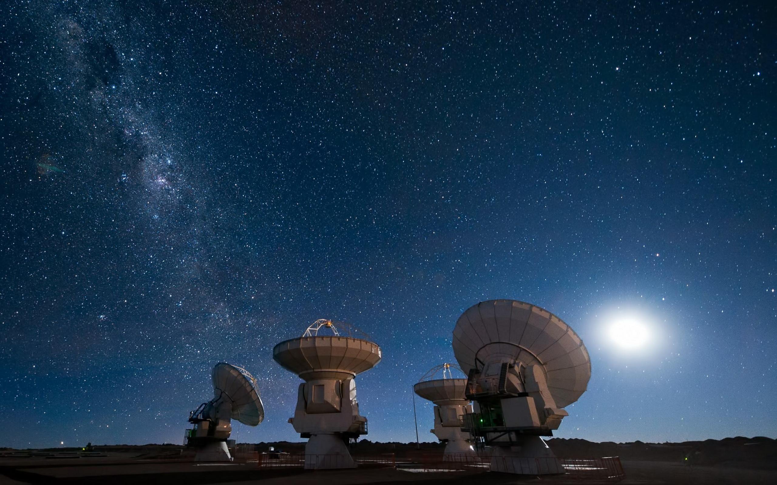 Fantastic Telescope Wallpaper