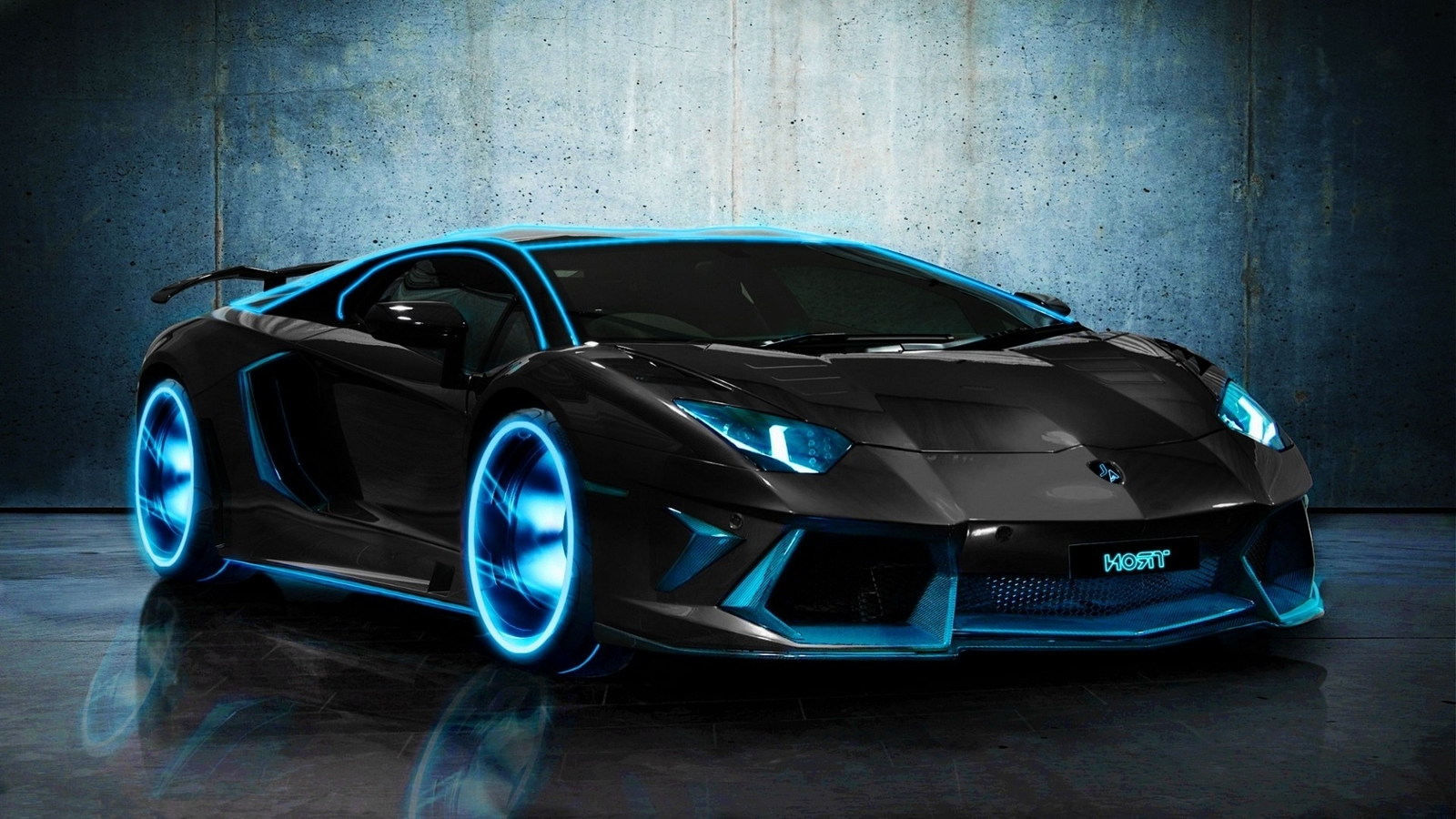 Spectacular Free High Definition Tron Lamborghini Aventador Wallpapers 1600x900px