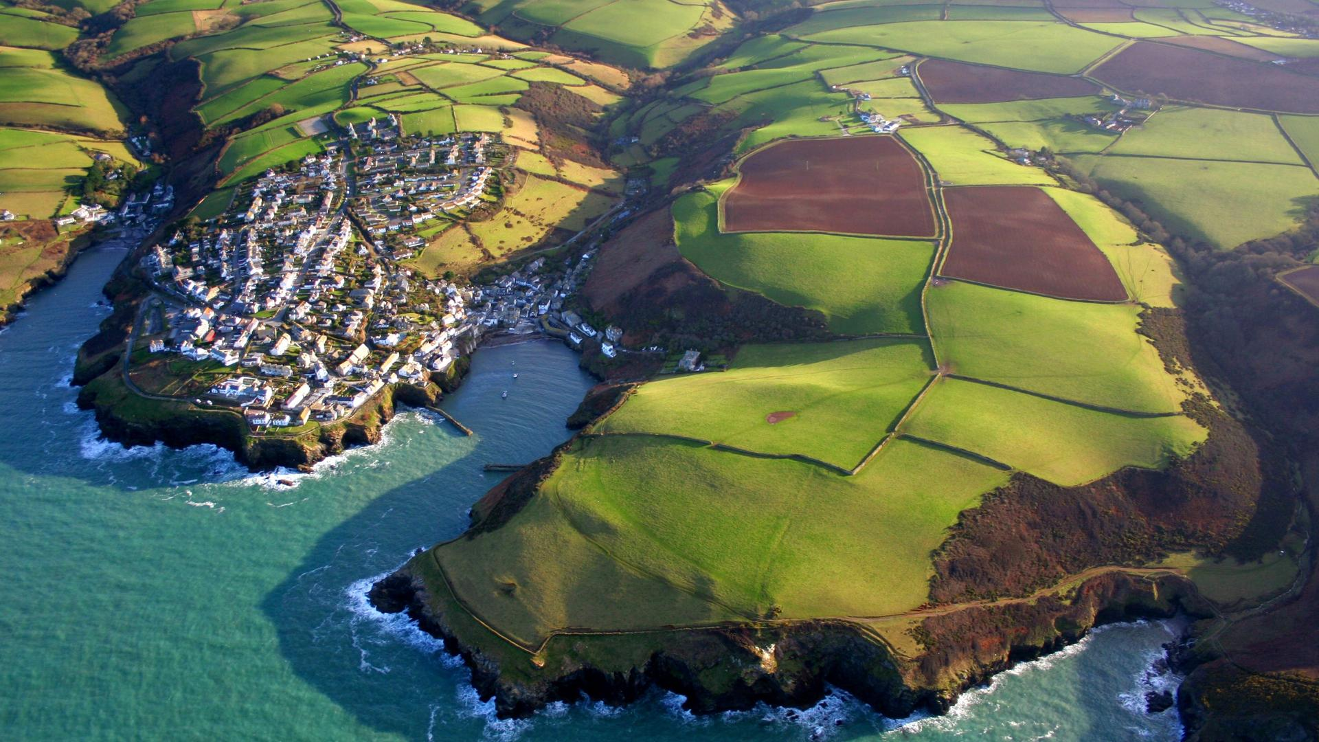 Fantastic village of port isaac in england HQ WALLPAPER - (#136319)