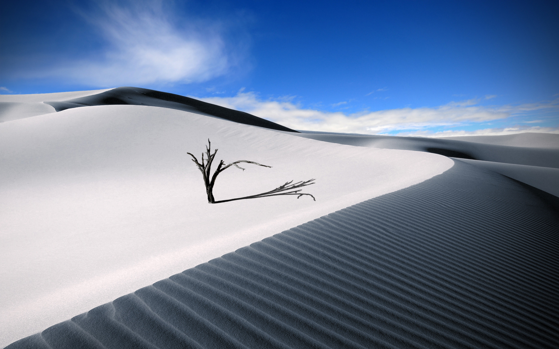Fantastic White Sand Wallpaper