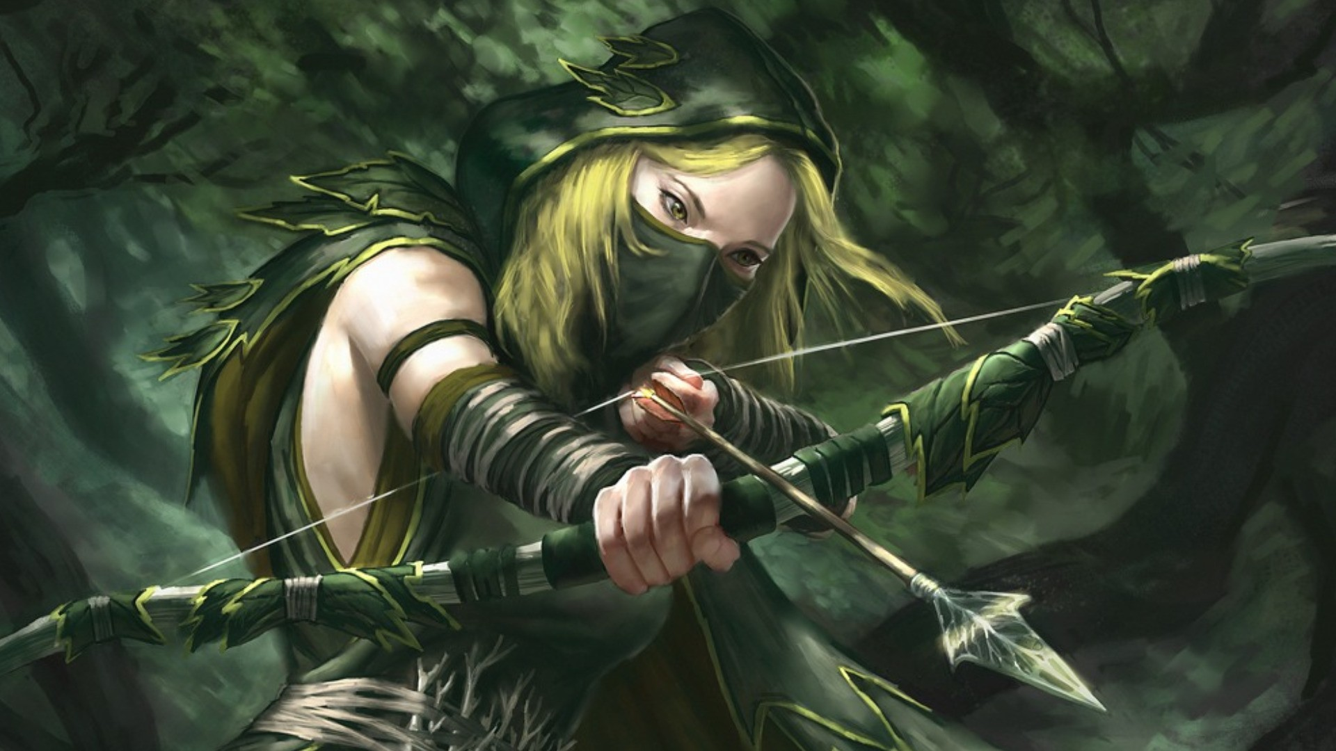 Fantasy Archer Wallpaper
