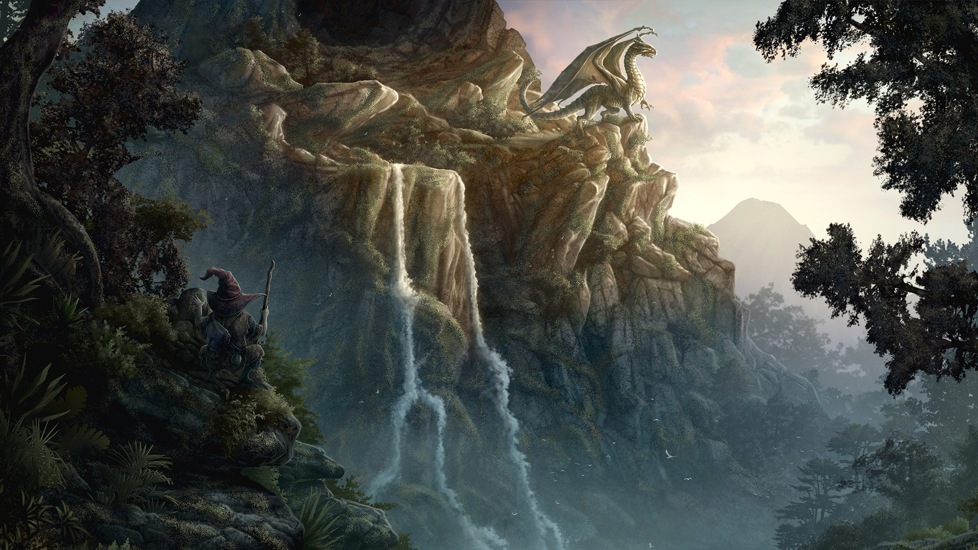 Fantasy Landscapes Art Desktop Wallpaper