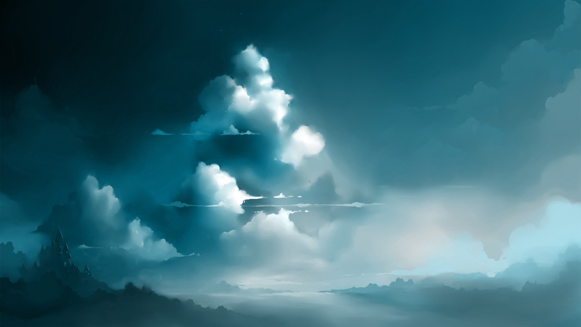 Fantasy clouds background images wallpaper Fantasy HD Wallpaper 1920x1080 px