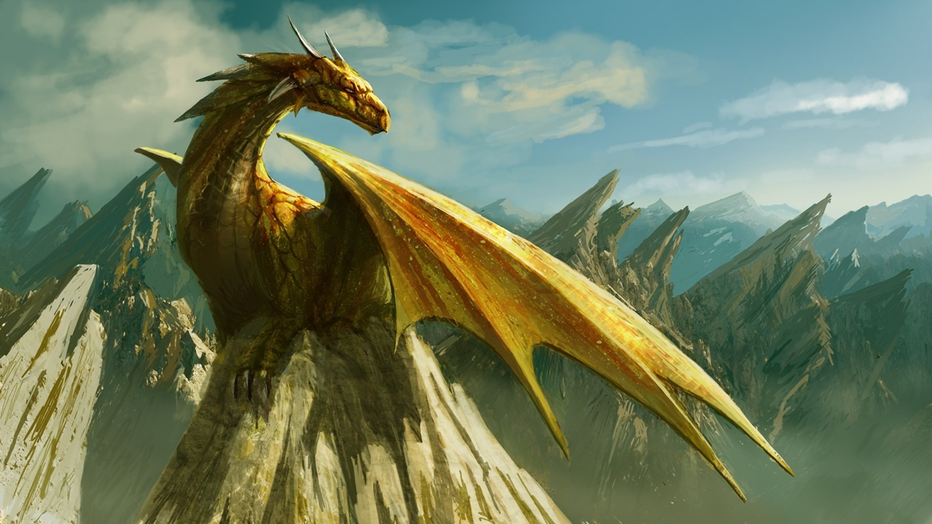 Fantasy Dragon Wallpaper Full HD Image