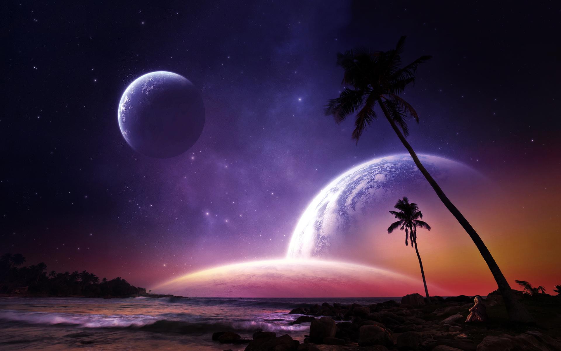 Fantasy dreamworld