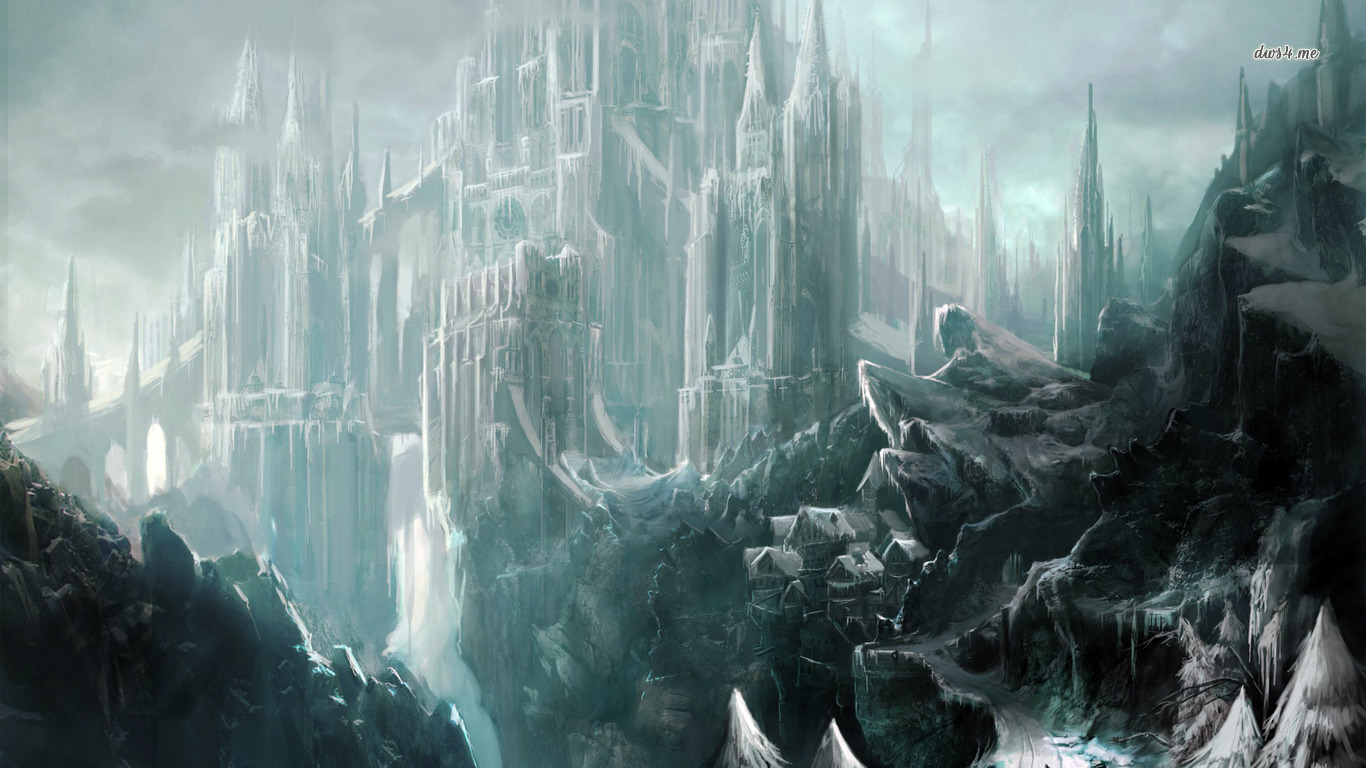 Fantasy Ice Wallpaper